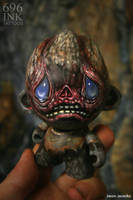 will work for brains....optimistic zombie beggar by JasonJacenko