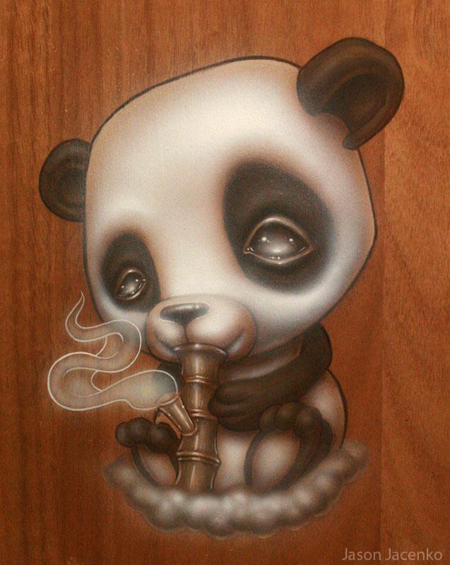 happy panda :) by JasonJacenko