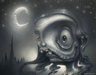 zombie princess in progress by JasonJacenko