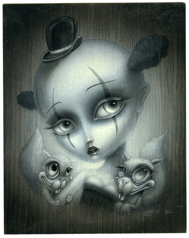 clown girl by JasonJacenko on DeviantArt