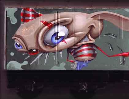 train in progress by JasonJacenko