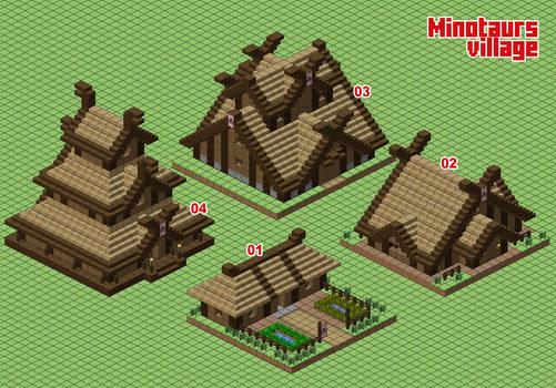 Minotaurs village (WIP)