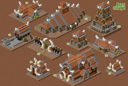 Orcs village - WIP