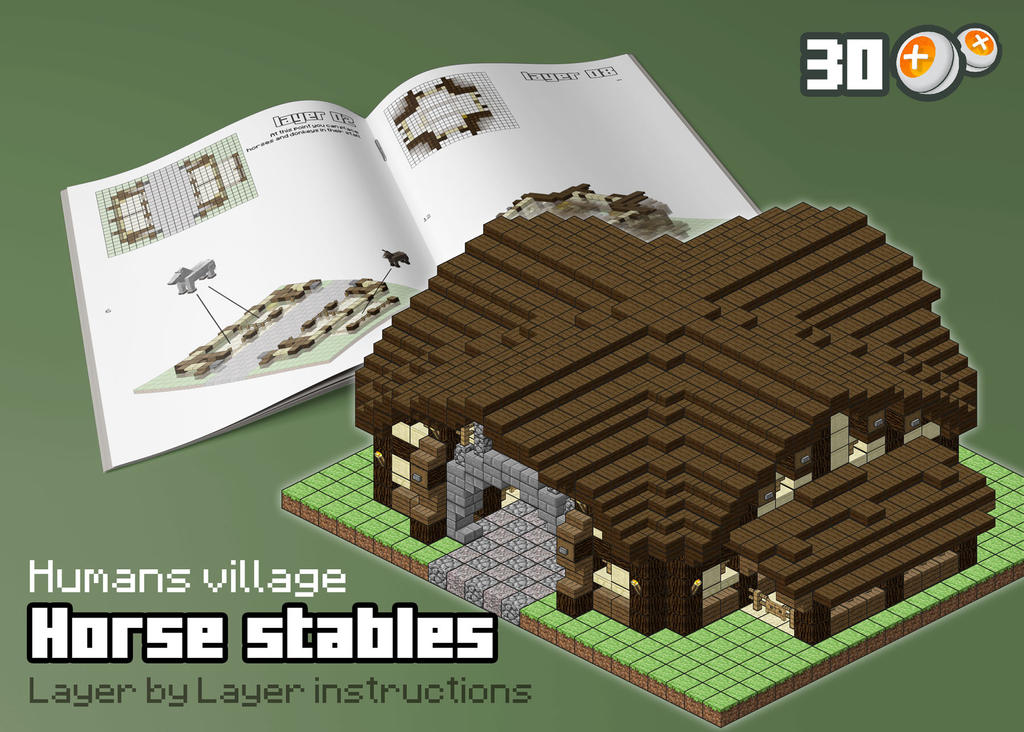 HUM - Horse Stables by spasquini