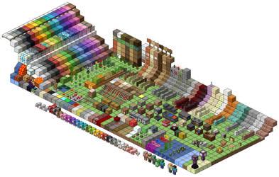 Minecraft 1.14 Texture Showcase