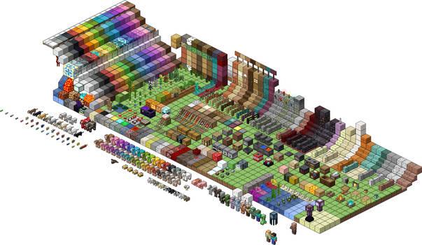 Minecraft 1.16 Texture Showcase