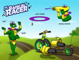 Radical Racer: Dixie and Blert