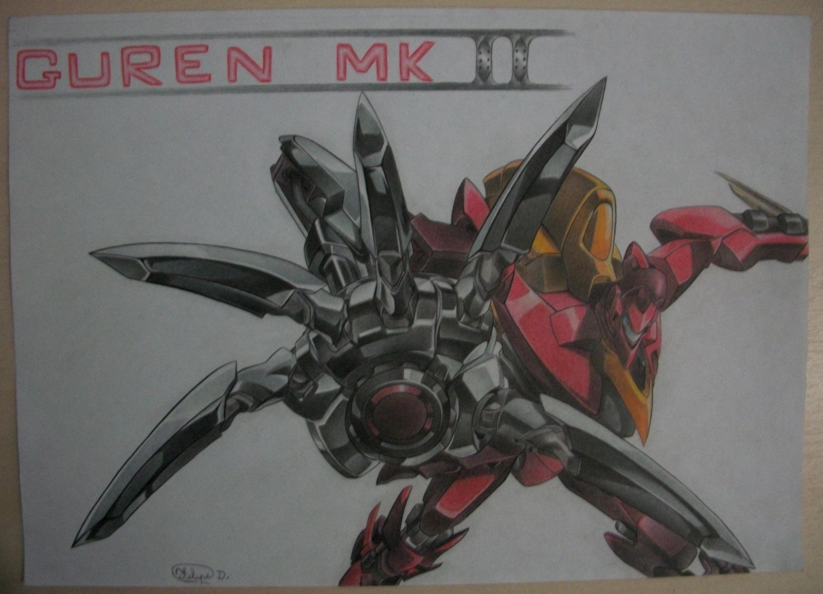 Guren Mk II By Felipedraws On DeviantArt