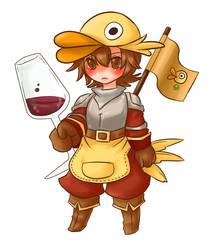 Duck Knight by Hideyo