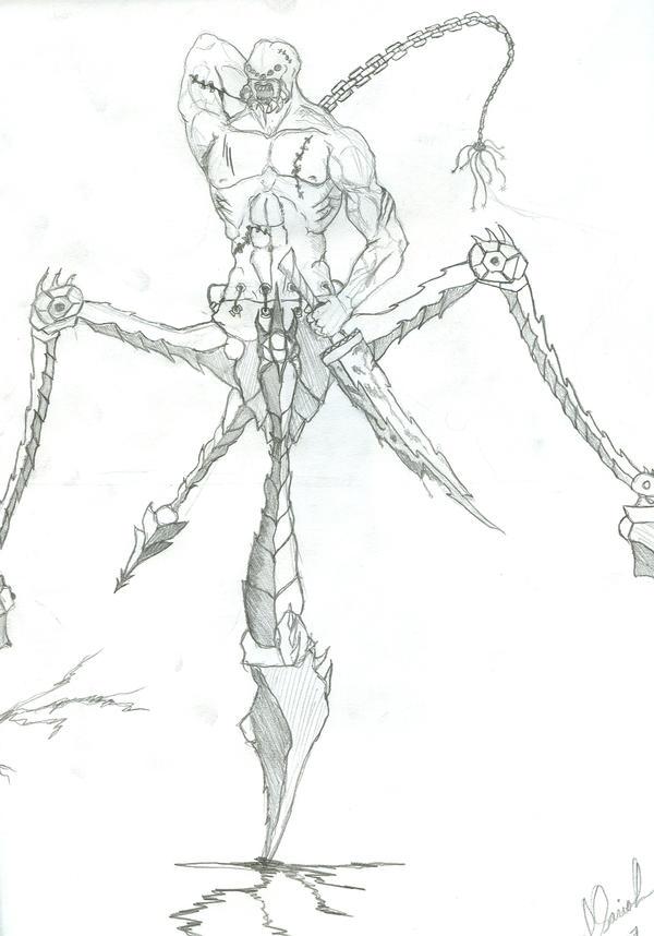 Environement Concepts Sketches