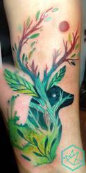 wild deer by yadou