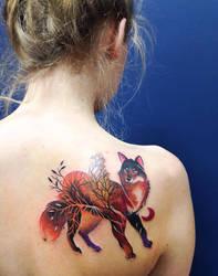 wild fox by yadou