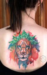 lion by yadou