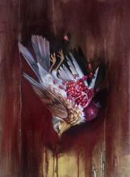 dead bird by yadou