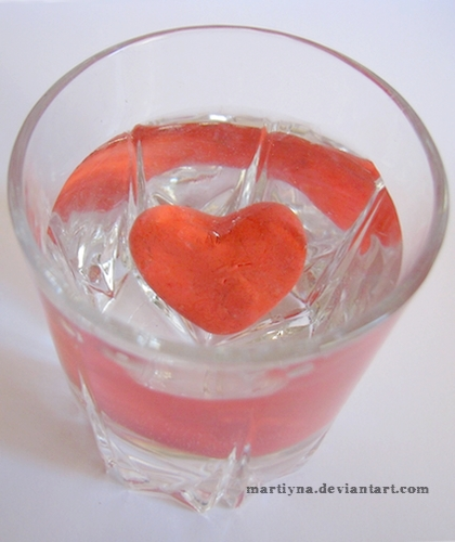 Glass of love  by martiyna