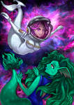 Space Mermaids Redrawn by Ccjay25