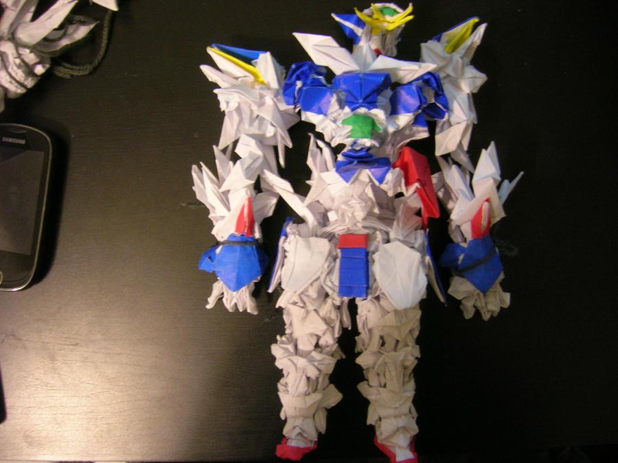 Origami Gundam WIP By Alin463