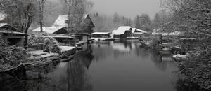 Lake town old