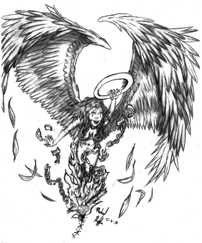 Angel out Of Hell by StickWilde