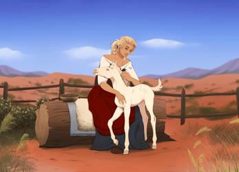 Elorah | Horse Husbandry - Initiate by SkyOpium