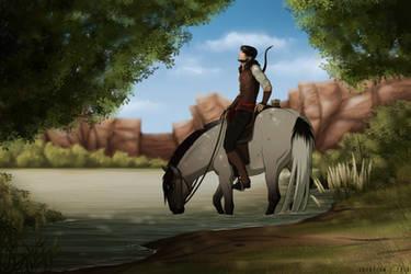 Jarah | Hunting - Initiate by SkyOpium