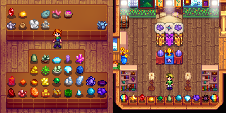 Stardew Valley Rainbow Collections By Pudassassin On