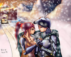 medieval winter love from the protector of ages by rtj3000