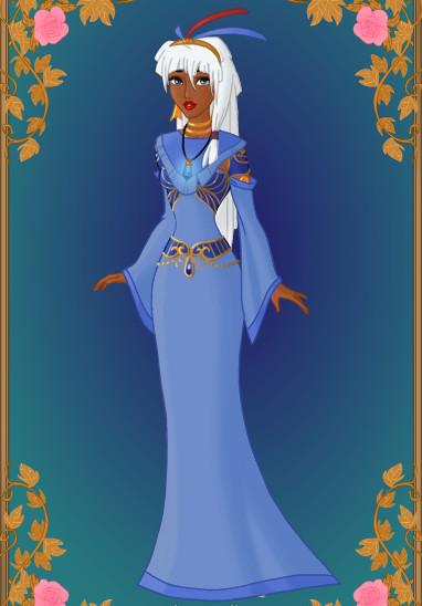 Tribal Princess: Kida by GlamourGoth89 on DeviantArt