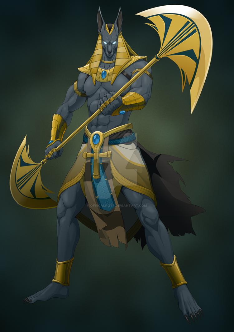 Anubis By Officalrotp On Deviantart