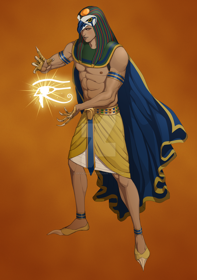 Egyptian God Ra by OfficalROTP