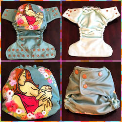 Breastfeeding is Beautiful Cloth Diaper
