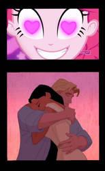 Pinkie Pie like too see Pocahontas with John Smith