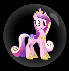 Princess Cadance Trapped in a bubble