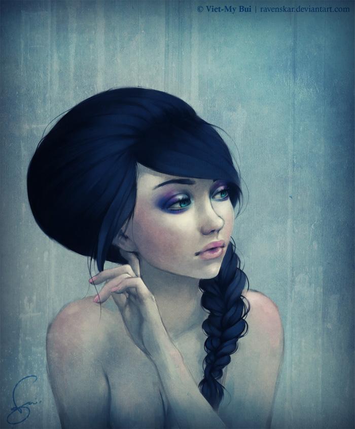Рисованные портреты от Revenskar