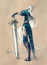Amalin the Paladin by vmbui