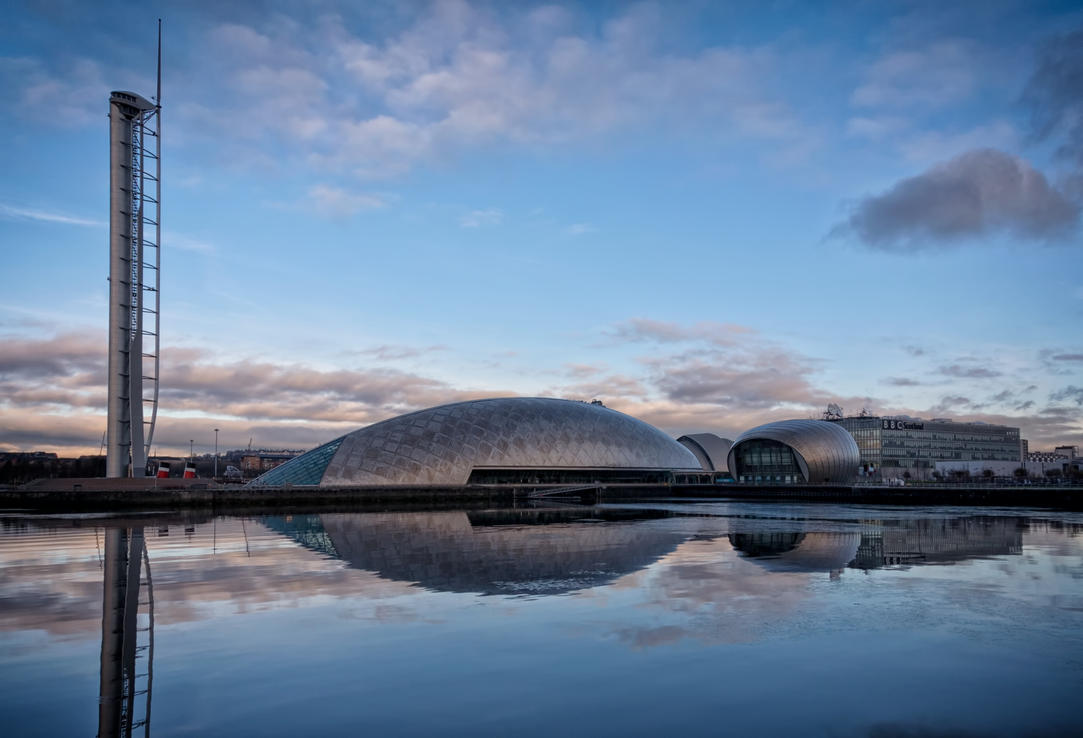 Glasgow Science Centre and Tower by davidjearly
