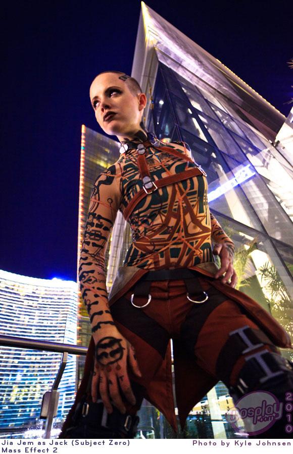 Jack - Mass Effect 2 by JiaJem