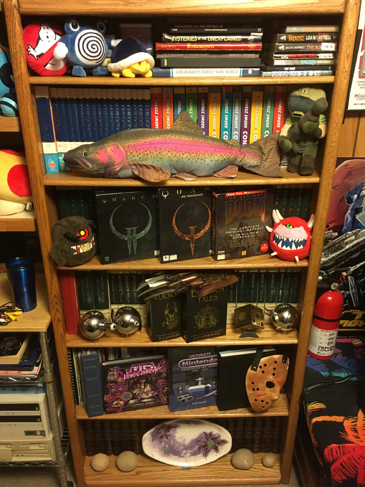 Bookshelf of DOOM - Updated for 2017! by RedFalcon696