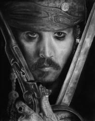 Jack Sparrow...Captain Jack Sparrow by Larien1121