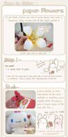 + Paper Flower tutorial +