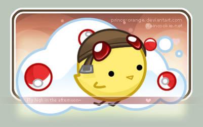 + Prince-orange Matching Web + by RainCookie