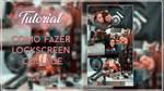 Tutorial lockscreen collage by xBatgirl