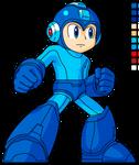 - SSB4 Style - Mega Man HD Sprite