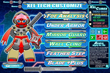 [Mighty No.9] Avail Customization mock-up by Availation