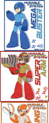 Mega Man 11 New Variable Weapon System by Availation