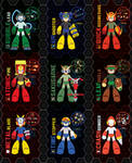 Mega Man 11 Weapon Get - All MM2 Weapons -