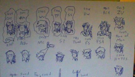 Zelda sketches by liamt4