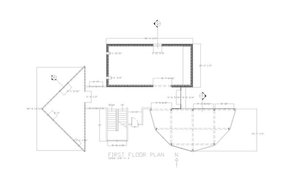 John hejduk half house plan by kylcampb on deviantart for Two and half house plans
