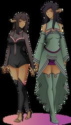 HoW-Stefania Nwaya and Oezlem Mae by HardyDytonia