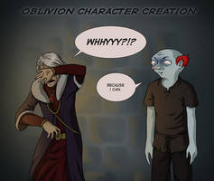 Oblivion: Character Creation